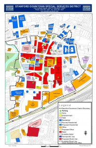 Stamford Downtown, Stamford, Stamford Map, Stamford Downtown Map