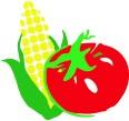 Corn & Tomato Symbol