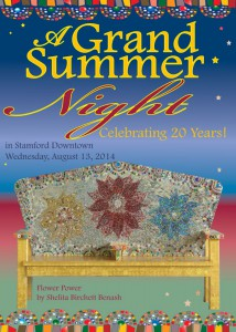 Grand Summer Night Invitation Cover Stamford Downtown
