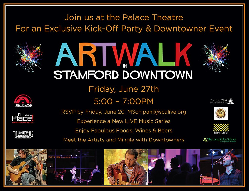 ARTWALK in Stamford Downtown, ARTWALK 2014, The Palace Theater, Stamford Downtown, Stamford, Downtown Stamford, Events, Celebration, Art in Stamford
