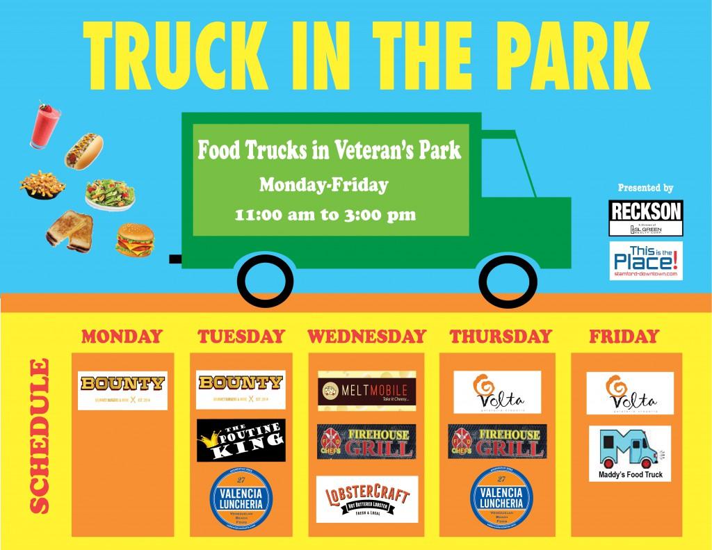 Stamford Food Truck Schedule