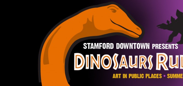 Dinosaurs Rule in Stamford Downtown