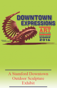 Downtown Expressions Outdoor Sculpture Exhibit Booklet Stamford Downtown