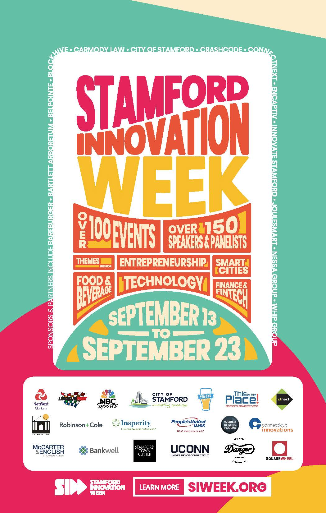 Stamford Innovation Week 2018 | Stamford Downtown - This is the place!