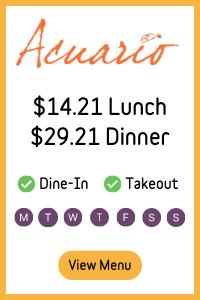 2021 Stamford Downtown Winter Restaurant Weeks